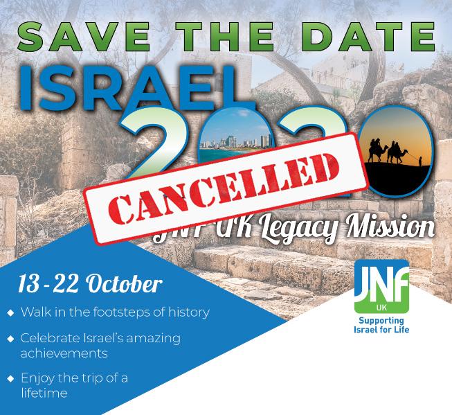 JNF UK Legacy Mission