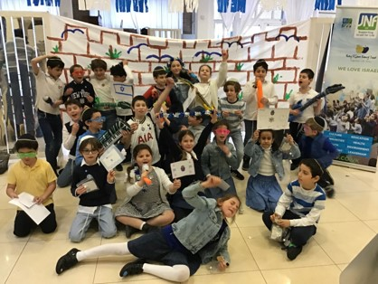 Pupils participating in Israel activities