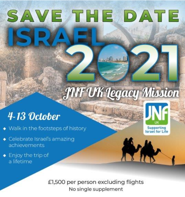 Legacy Mission to Israel 2021